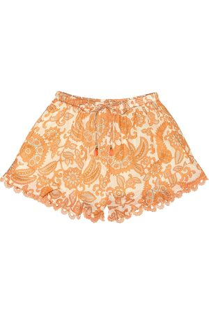 ZIMMERMANN Esclusiva Mytheresa - Shorts a stampa in cotone