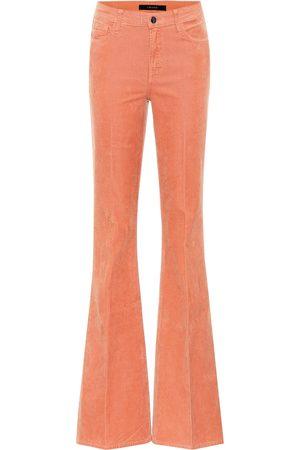 J Brand Pantaloni Valentina in velluto a coste