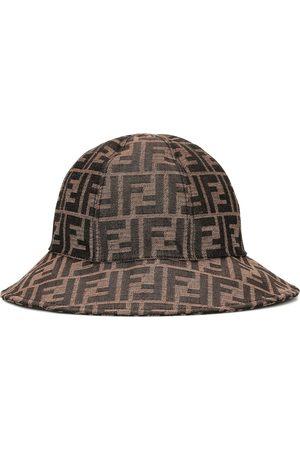 Fendi Cappello a stampa logo