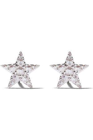ANNOUSHKA Orecchini a stella in 18kt e diamanti - 18ct White Gold