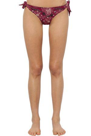 "Isabel Marant Slip Bikini ""sukie"" In Lycra Stampata"
