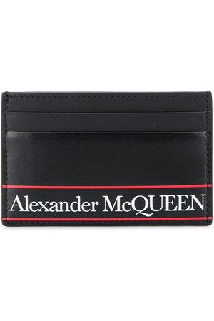 Alexander McQueen Portacarte con logo