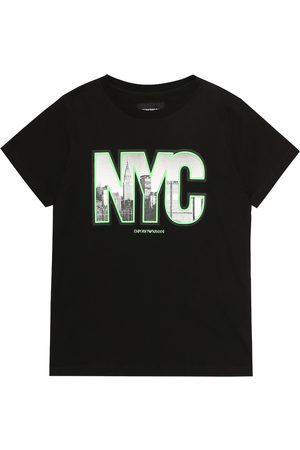 Emporio Armani T-shirt in cotone con stampa