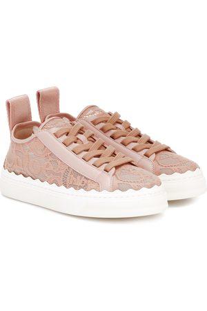 Chloé Esclusiva Mytheresa - Sneakers Lauren in pizzo