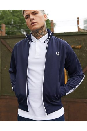 Fred Perry Giacca sportiva navy con fettucce laterali