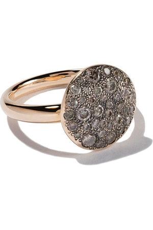 Pomellato Anello Sabbia in oro rosa 18kt con diamanti - Brown