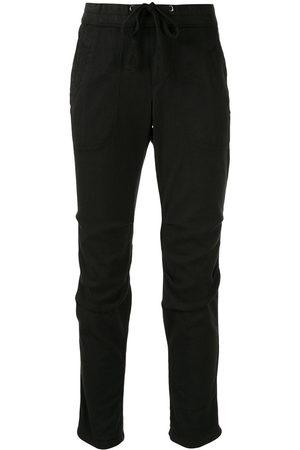 James Perse Pantaloni slim - Di colore