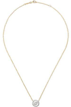 Kiki Mcdonough Collana con pendente in e 18kt con diamanti - YELLOW AND WHITE GOLD
