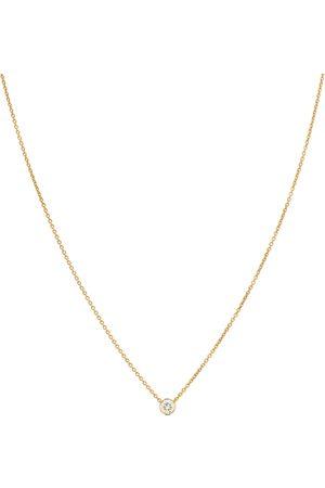 SOPHIE BILLE BRAHE Collana Diamante Simple 18kt in con diamante
