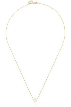 Jade Trau Collana con pendente Penelope in oro 18kt e diamanti - METALLIC