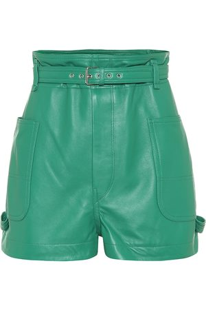 Isabel Marant Shorts Xike in pelle