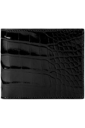 Gucci Uomo Portafogli e portamonete - Portafoglio bi-fold in coccodrillo