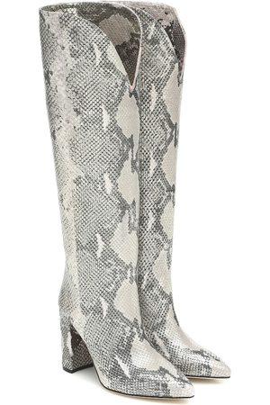 PARIS TEXAS Stivali in pelle stampata