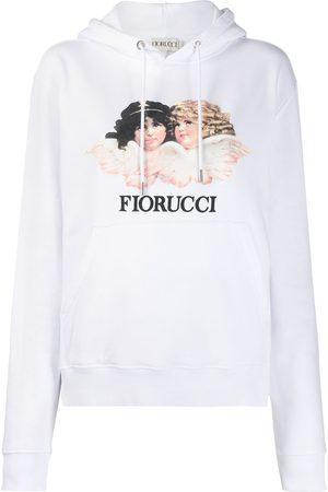Fiorucci Felpa con cappuccio Vintage Angels