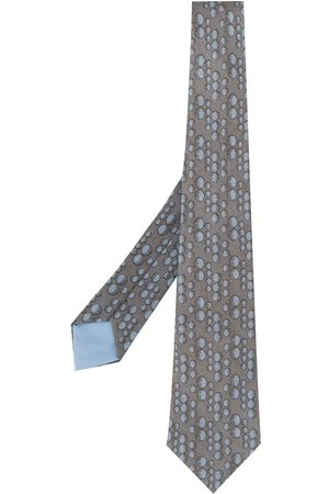 Hermès Cravatta con stampa anni 2000 Pre-owned