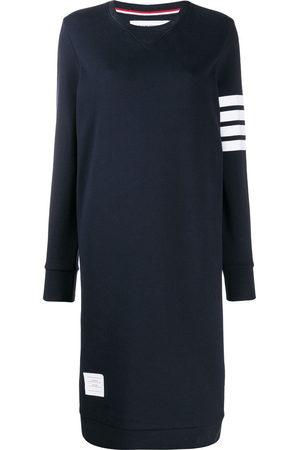 Thom Browne Abito stile maglione con dettaglio a 4 righe