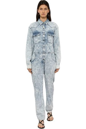 "Isabel Marant Tuta ""idesia"" In Denim Di Cotone Washed"