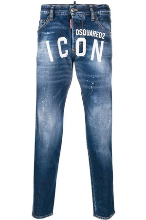 Dsquared2 Jeans affusolati ICON con logo