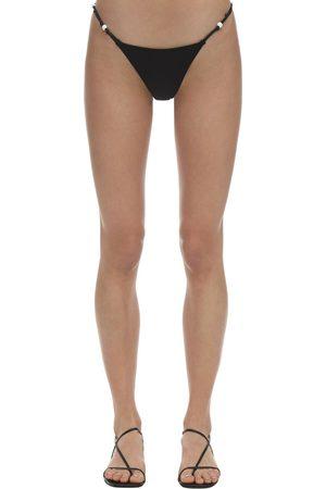 """Solid Slip Bikini """"april"""" In Lycra"""