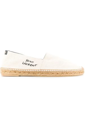 Saint Laurent Espadrillas con ricamo - Color carne