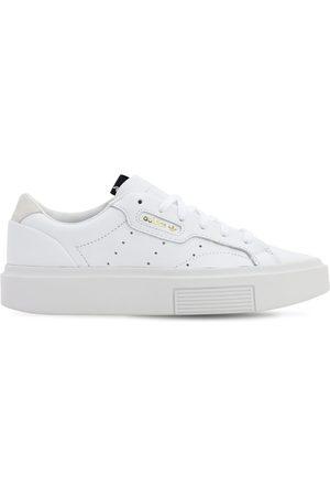 """adidas Sneakers """"sleek Super"""" In Pelle"""