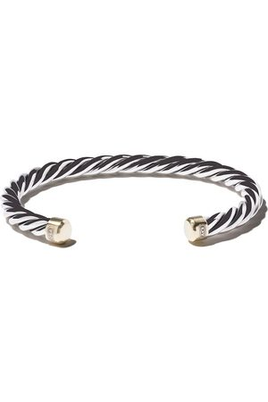 David Yurman Bracciale rigido incrociato - S8