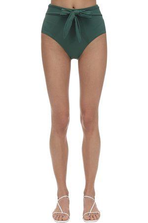 """Eberjey Slip Bikini """"nina"""" In Nylon Piqué Stretch"""