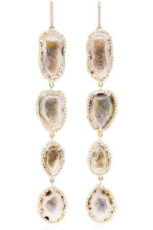 KIMBERLY MCDONALD Orecchini con pendente in 18kt e diamanti - Gold