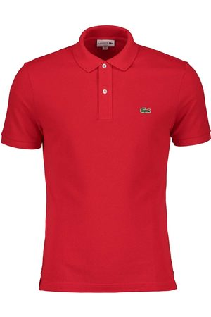Lacoste Polo rossa slim fit