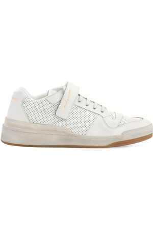"Saint Laurent Uomo Sneakers - Sneakers ""travis"" In Pelle"