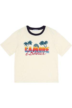 Dolce & Gabbana T-shirt in cotone con stampa