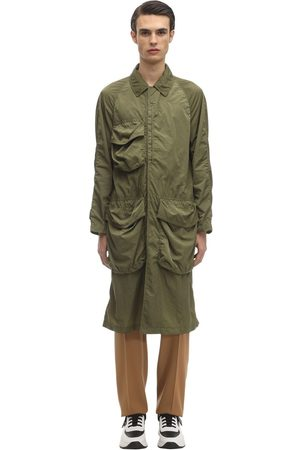 """Burberry Trench """"thoresby"""" In Techno Tessuto"""