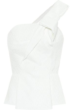 Roland Mouret Top Whitefield in crêpe