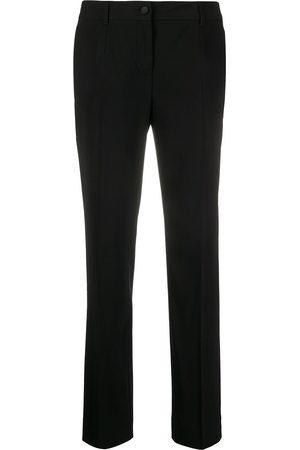 Dolce & Gabbana Donna Slim & Skinny - Pantaloni slim - N0000 BLACK