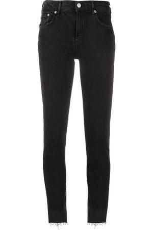 AGOLDE Jeans skinny a vita media