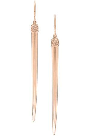 SHAUN LEANE Orecchini lunghi con diamanti