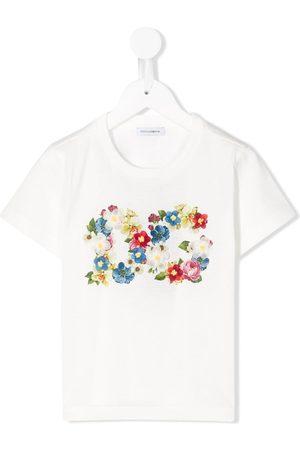Dolce & Gabbana T-shirt a fiori - Di colore
