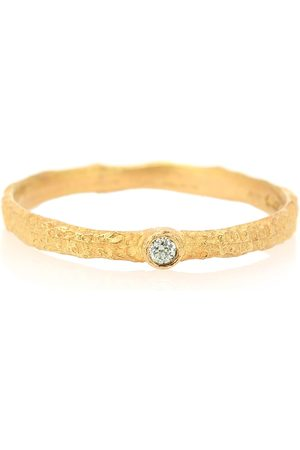 Orit Elhanati Anello Roxy Love in giallo 18kt con diamante verde