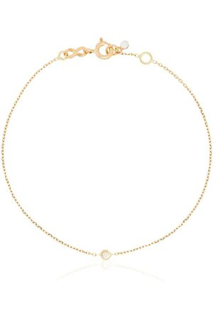 GIGI CLOZEAU Bracciale in 18kt con diamanti - YELLOW GOLD
