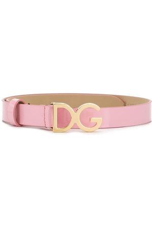 Dolce & Gabbana Cintura con logo DG