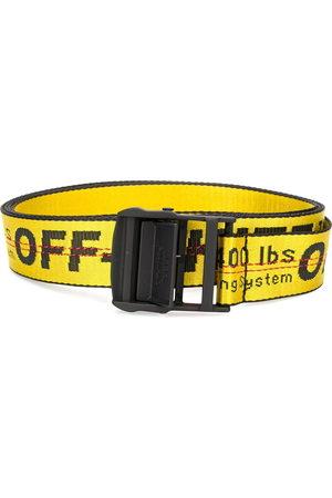 OFF-WHITE Cintura Industrial con fibbia