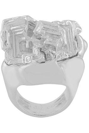 Coup De Coeur Anello Vortex Stone - Effetto metallizzato
