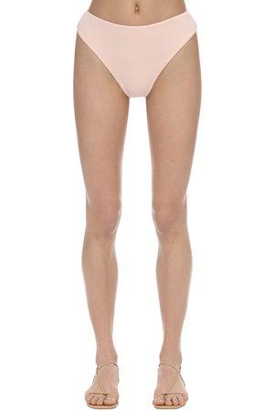 AEXAE Slip Bikini Vita Alta In Lycra
