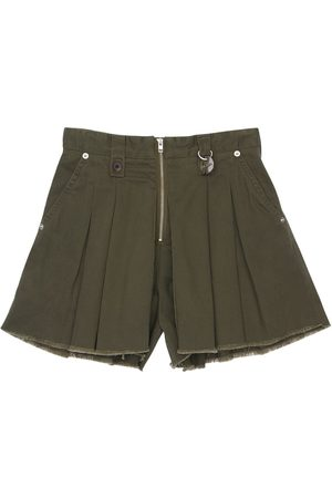 Diesel Bambina Pantaloncini - Shorts In Gabardina Di Cotone