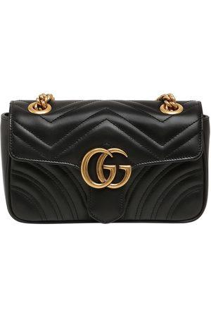 """Gucci Borsa Mini """"gg Marmont 2.0"""" In Pelle"""