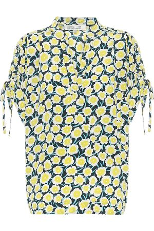 Diane von Furstenberg Blusa Grania a stampa in seta