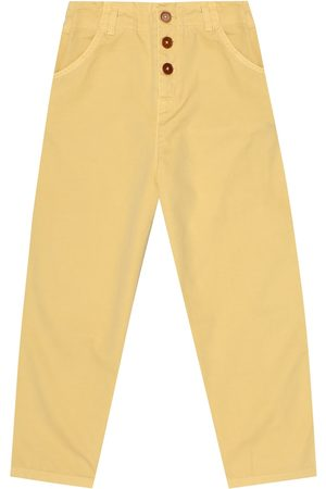 Caramel Pantaloni Carnaby in cotone