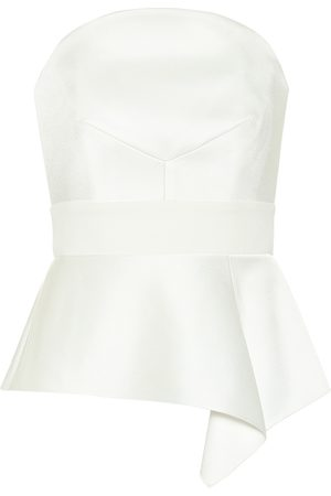 Roland Mouret Donna Top - Bridal - Top Penn in raso