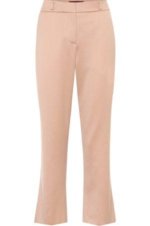 Sies marjan Pantaloni cropped Nastya in lana