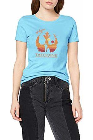 Texlab Welcome to Tatooine-Damen T-Shirt, Donna, , M